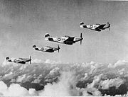 45th Fighter Squadron - P-51 Mustangs