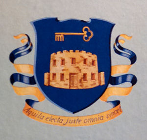 49th Infantry Regiment (United States) - Coat of Arms, taken from the cover of the Headquarters Company 49th A.I.B. book