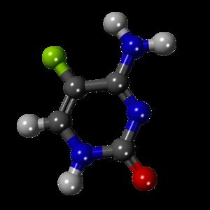 5-Fluorocytosine-3D-balls.png