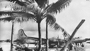 500th Air Expeditionary Group - 500th Bomb Group B-29 on its parking ramp, Saipan, 1945