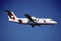 52dl - Crossair Avro RJ 100; HB-IXS@ZRH;27.02.1999 (5256721193).jpg