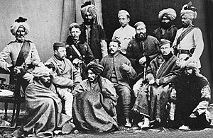 58th Vaughan's Rifles (Frontier Force) - Image: 5th Punjab Inf (10 FF) 1878