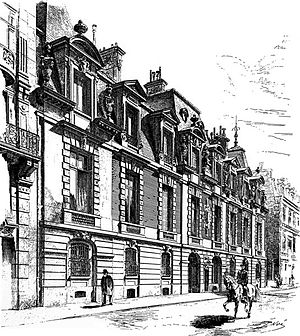 Ernest Hoschedé - 64 Rue de Lisbonne, Paris, 1878, Home of Ernest and Alice Hoschedé