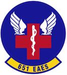 651 Expeditionary Aeromedical Evacuation Sq emblem.png