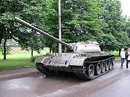 الدبابات الاشقاء من العائلة تي ( انها حقا عائلة محترمة اخري ) - صفحة 4 260px-6765_-_Moscow_-_Poklonnaya_Hill_-_Tank