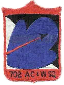 702d Radar Squadron - Emblem