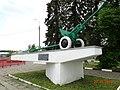 76-мм пушка у автомагистрали Москва-Минск, Ярцево, Ярцевский район, Смоленская область.jpg