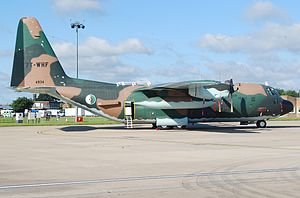 Algerian Air Force - Algerian C-130 on the tarmac