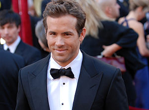 Ryan Reynolds arrives at the 82nd Academy Awards.