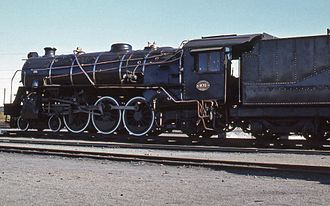 1928 in South Africa - Narrow firebox Class 16DA