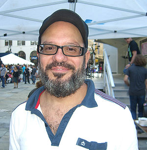 David Cross - Cross at the 2009 Brooklyn Book Festival