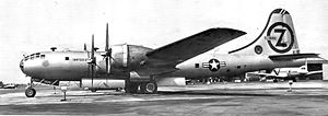 90th Missile Wing - Image: 90th Bombardment Wing Boeing B 29 100 BW Superfortress 45 21846 1948
