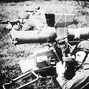 9K111 Fagot man-portable anti-tank missile