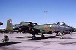 A-10A 78-0724 CN 344 marked as 354th TFW CC plane To AMARC 12 Mar 1992.jpg