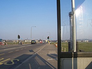 A2 road (Great Britain) - A2 across Blackheath.