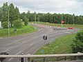 A5156 road roundabout at A483 junction 6 - geograph.org.uk - 2408697.jpg