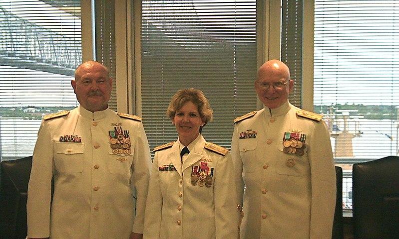 File:ADM Allen, VADM Papp with new District 8 Commander RADM Landry (3606282440).jpg