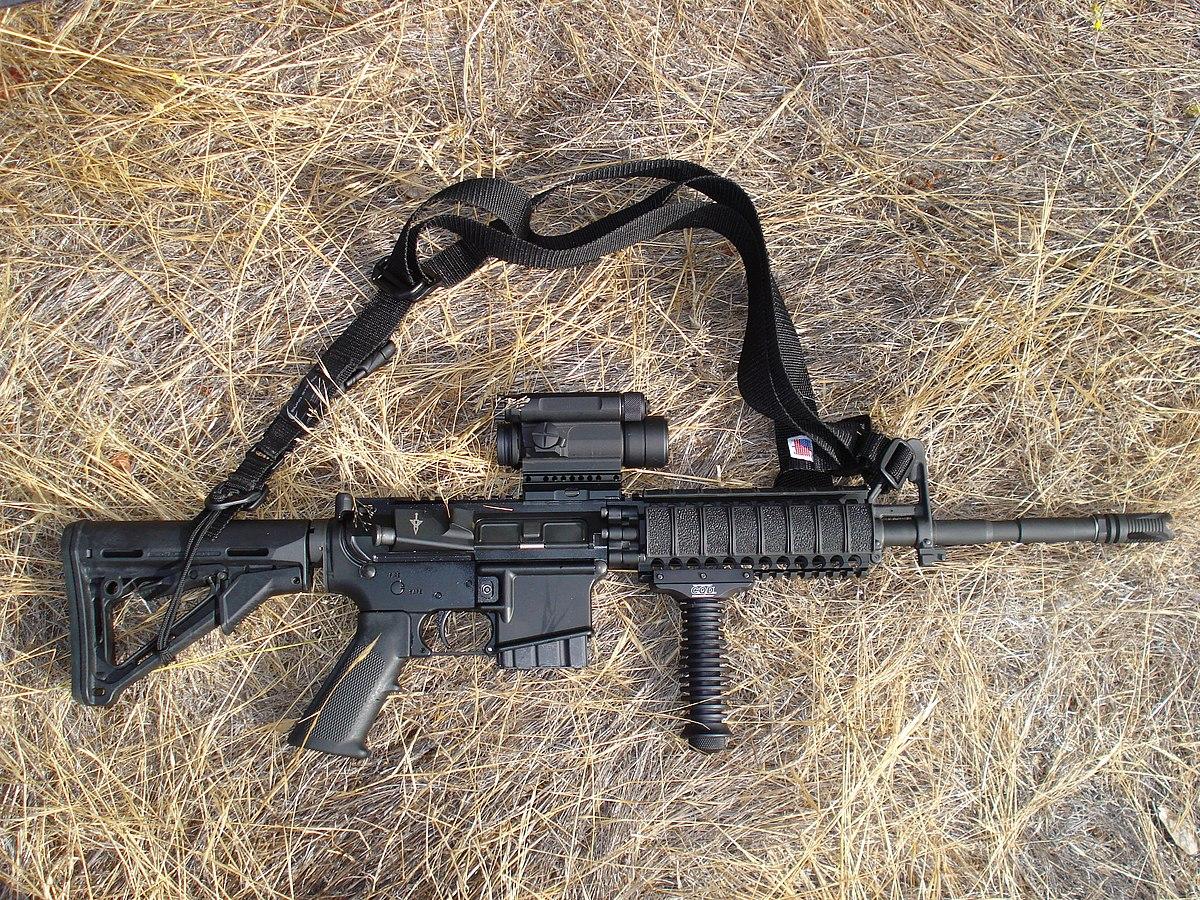 AR-15s in California - Wikipedia M110 Sniper Rifle Suppressed