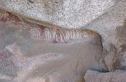Escale à Aruba les Pétroglyphes arawak dans les roches Ayo