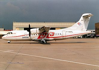 Chalair Aviation - Former Chalair Aviation ATR 42-300