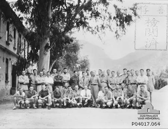 1st Independent Company (Australia) - Australian prisoners of war, including members of the 1st Independent Company, in Japan c. 1942–45.