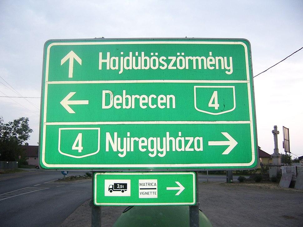 A 4-es táblája