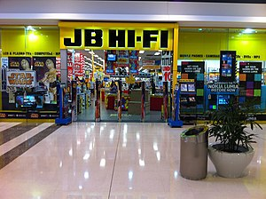 JB Hi-Fi - JB Hi-Fi store in Stockland Rockhampton Shopping Centre, Rockhampton, Queensland