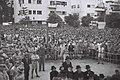 A RALLY IN TEL AVIV FOR HOLOCAUST VICTIMS. עצרת זכרון בתל אביב, למען קורבנות השואה.D817-068.jpg