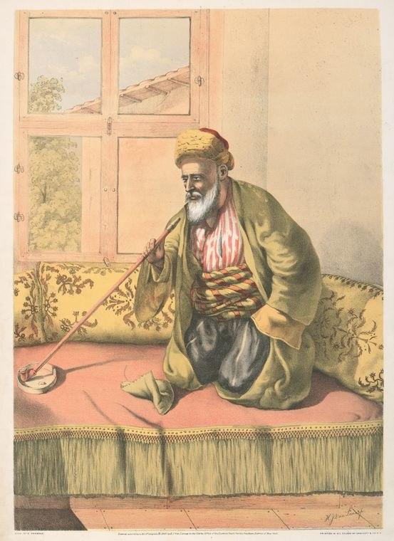 A Turkish Effendi (1862)
