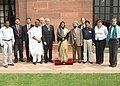 A delegation of International Physicians for the Prevention of Nuclear War called on the President, Smt. Pratibha Devisingh Patil in New Delhi on March 08, 2008.jpg