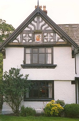 A gable of the Manor House, High Street, Tarporley - geograph.org.uk - 653924