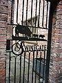A gate down Swinegate, York - geograph.org.uk - 2567609.jpg