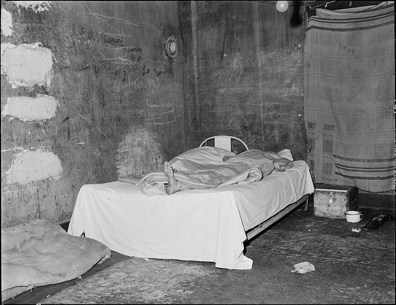 File A Miner Asleep In His Home Southern Coal Corporation
