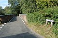 A narrow bridge over the railway at Reedham - geograph.org.uk - 1480891.jpg