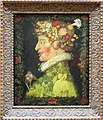 A painting By Giuseppe Arcimboldo , a 16th century Italian painter best known for his imaginative portraits of people using only vegetables. (11607091426).jpg