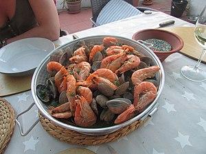 Cataplana - clams in cataplana