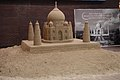 A sand sculpture of Taj Mahal by Shri Sudarshan Patnaik is attracting a large number of visitors, the part of India@ 60 Celebration in New York.jpg