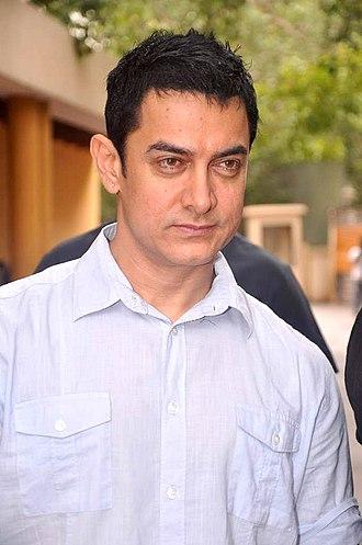 Aamir Khan - Khan at an event for NDTV in 2012