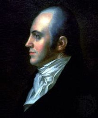 United States presidential election, 1800 - Aaron Burr tied Jefferson in the Electoral College vote.