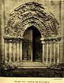Abbaye de Saint-Maurice Blasimon Portail (Brutails 1912).jpg