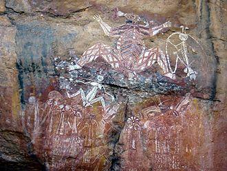 Nourlangie Rock - Image: Aboriginal Art Australia(2)