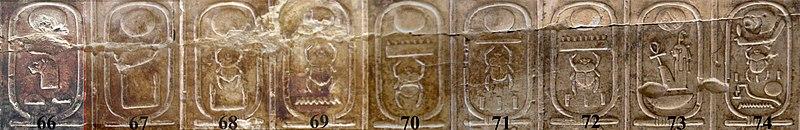 Archivo:Abydos Koenigsliste 66-74.jpg