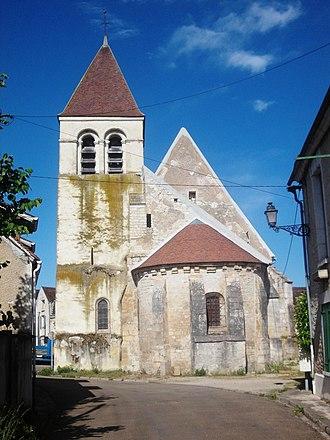Accolay, Yonne - saint-Nizier church in Accolay