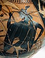 Acheloos Painter - ABV 383 2 - Herakles and the Kerkopes - struggle for the deer - Firenze MAN 3871 - 04.jpg