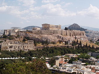 Sophia of Prussia - Acropolis in Athens, Greece