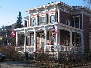 National Register of Historic Places listings in DeKalb County, Illinois - Image: Adolphus W Brower House 7