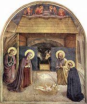 Adorazione del Bambino (1439-43), Beato Angelico.