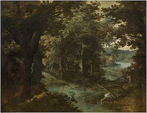 Adriaen van Stalbemt - Landscape with fables