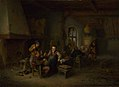 Adriaen van Ostade - The Interior of an Inn with Nine Peasants and a Hurdy-Gurdy Player NG NG NG2540.jpg