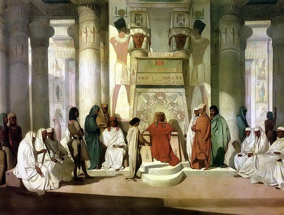 Adrien Guignet Joseph et Pharaon
